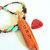 Cedar Feather Pendant Necklace, Tsalagi Pendant, Seed Bead Necklace, Cherokee