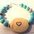 Grandmother Bracelet, Cherokee Language, Tsalagi Bracelet, Turquoise Jewelry,
