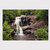 Bald River Falls, Fine Art Photography, Matted Photography, Nature Photography,