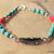 Feather Bracelet, Turquoise Jewelry, Native Style Jewelry, Tribal Jewelry, Boho