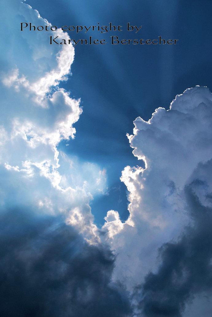 Fine Art Photography, Cloudscape Image, Home Decor, Office Decor, Inspirational