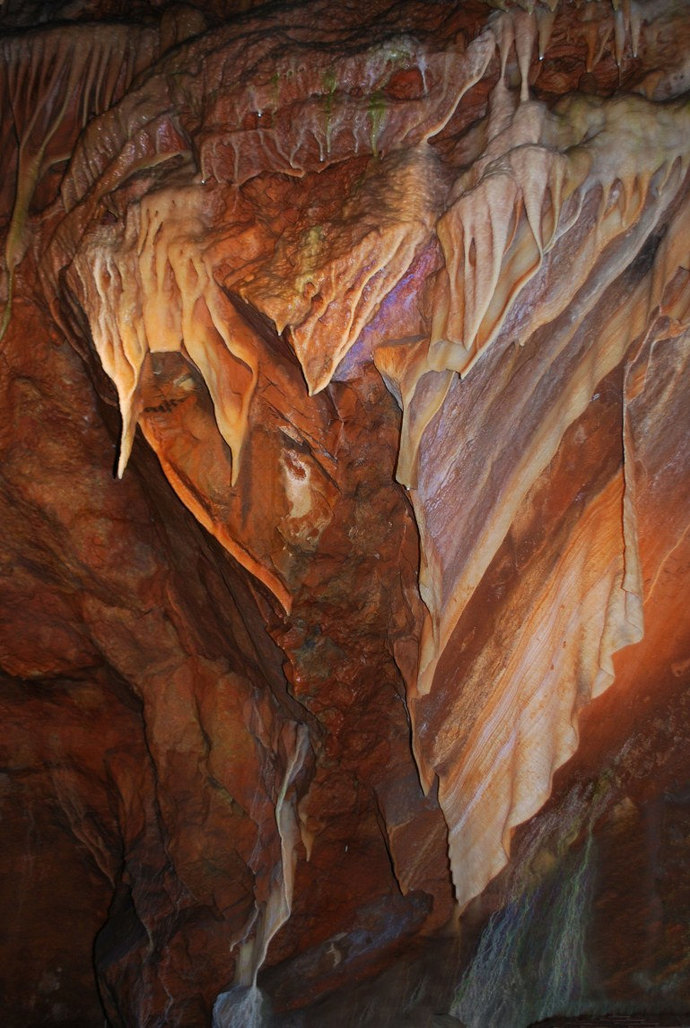 Fractured Truth, Cavern Photography, Fine Art Photography, Matted Photography,