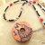 Wolf Pendant, Cherokee Language, Cedar Pendant Necklace, Handcrafted Jewelry,