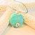 Amazonite Pendant, Pendant Necklace, Wire Wrap Pendant, Handcrafted Jewelry,