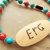Peace and Love Necklace, Cherokee Language, Turquoise Jewelry, Tsalagi Jewelry,