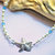 Pearl Anklet, Starfish Anklet, Beach Wedding, Handcrafted Jewelry, Bridal