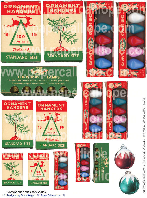 CHRISTMAS PACKAGING - 1