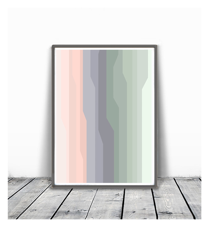 minimalism art, Abstract printable , Large Wall Art , Modern Art, lines