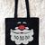 Santa Tote Bag, Santa bag, Christmas gift ideas