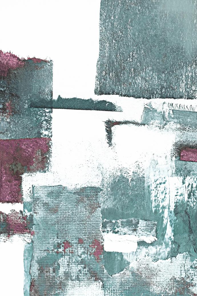 Scandinavian abstract, Printable Art, rose and mint, Art Poster, Digital
