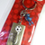 Coca Cola Korea Japan Fifa World Cup Mascots Keychain Key Ring Set Of 3 -