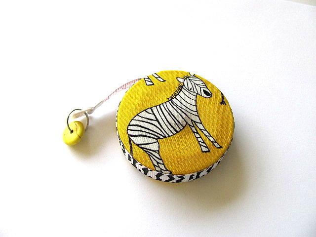 Tape Measure Zebra Retractable Pocket Measuring Tape
