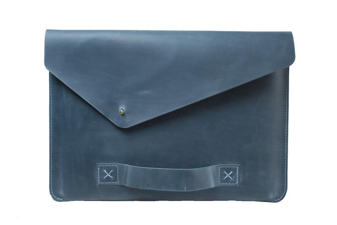 MacBook sleeve, leather laptop sleeve, notebook sleeve, MacBook Pro/Air clutch,