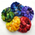 Hand Dyed Rainbow Color 5-pack  - Merino wool spinning fiber - 10 ounces