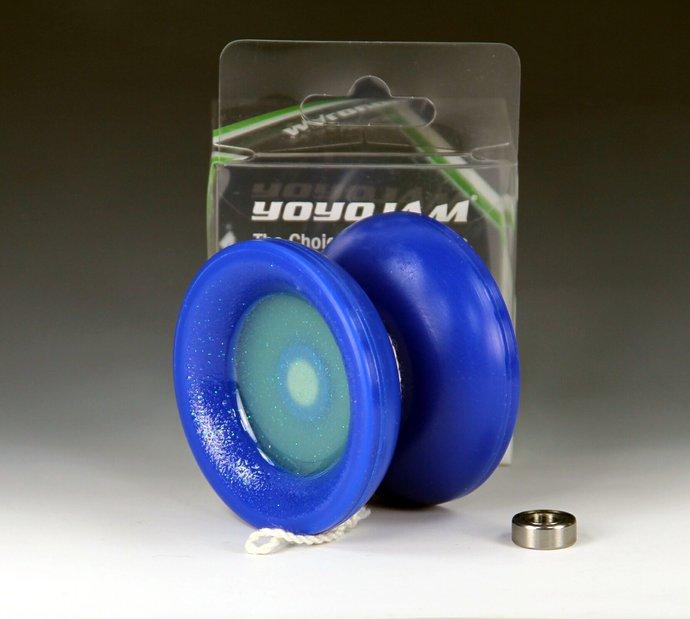 YoYoJam Surge Yo-Yo, with Glow-In-The-Dark Mods by YoYoSpin...One-Of-A-Kind