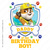 Rubble | Paw Patrol Daddy of the Birthday Boy Design | Instant Download