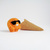 Scoopsie Orange, a cooool ice cream scoop Art Toy, wool plush collectible toy