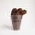 Chok glass of chocolate milk, needle felted Art Toy, soft sculpted art toy