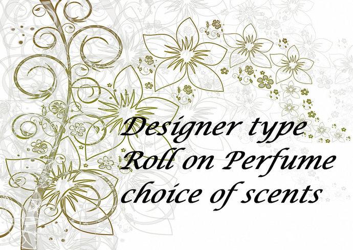Designer Perfume, Perfume Oil, Designer Type Fragrance, Layering Fragrance, Roll
