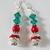 DRESS UP Drop Earrings--RhineStones--Glass Pearls--Swarovski Crystals-Lead Free
