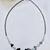 Hematite Heart Sterling Necklace