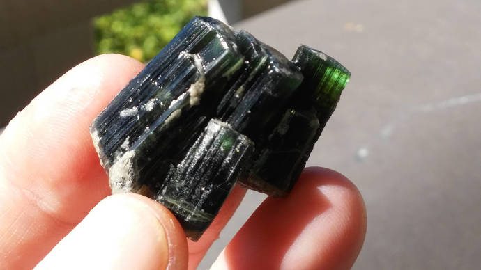 Green/Blue tourmaline cluster, rough tourmaline, raw tourmaline, tourmaline