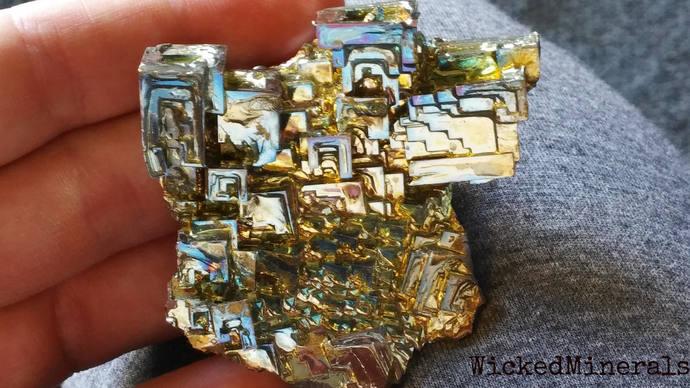 Bismuth Crystal Cluster,  bismuth crystal,  large bismuth, bismuth cluster