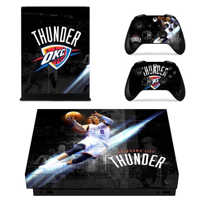 Oklahoma City Thunder xbox one X skin