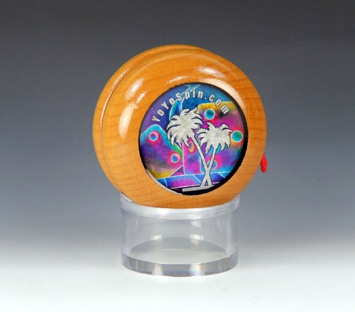 Imperial Fixed Axle Maple Wood Yo-Yo, made by YoYoSpin