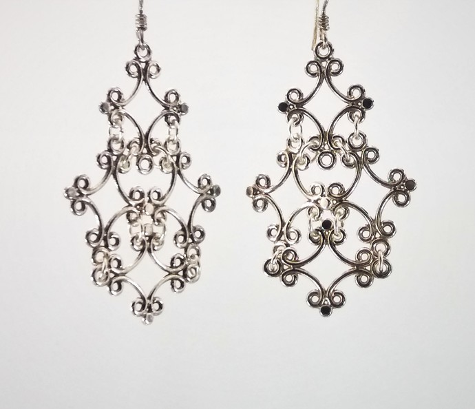 Royal Lace Earrings
