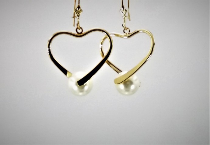 Gentle Heart Earrings
