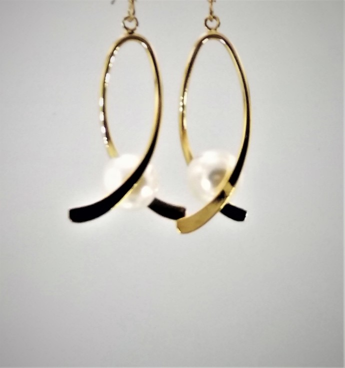 Whitewashed Sunlight Earrings