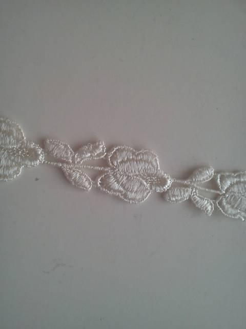 Cream Rose Lace