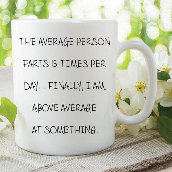Fart Mug Funny Novelty Gifts Girlfriend By MySticky On Zibbet