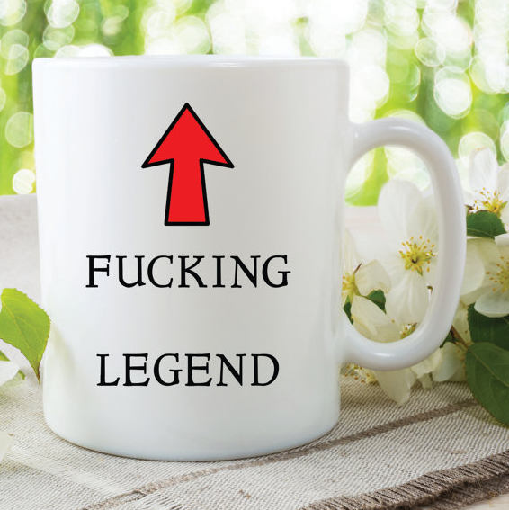 Legend Mug F**king Legend Fathers Day Gift Friend Gift Christmas Present Gift