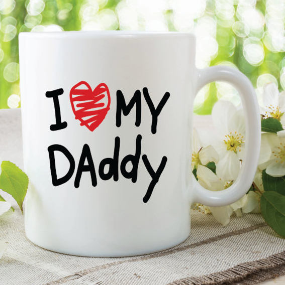 I Love My Daddy Mugs Fathers Day Gift Present Birthday Christmas Dad