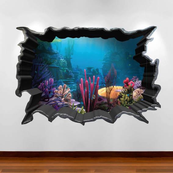 Finding Nemo Aquarium 3D Wall Art Sticker Decal by MySticky ...