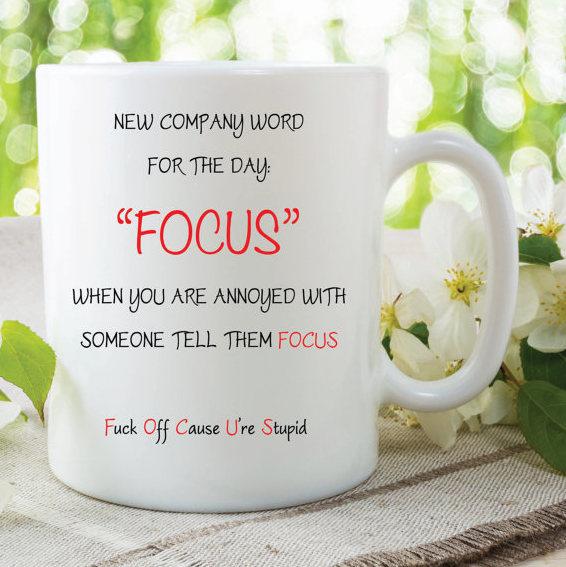 Novelty Funny Joke Mug Office Cup Birthday Anniversary Friend Girlfriend Wife