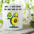 Novelty Funny Humour Printed Mug Avacado Good Kind Of Fat Jokes Birthday Friend
