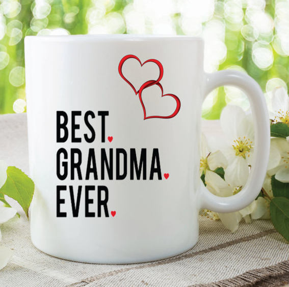 Grandma Mug Best Ever Gift Birthday Present Mothers Day Christmas