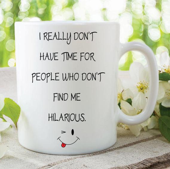 Funny Novelty Mug Sarcastic Gift By MySticky On Zibbet