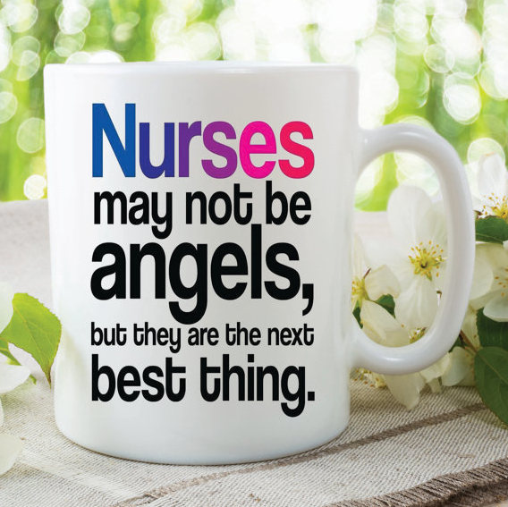 Novelty Nurses Mug Nurse Present Gift Best Christmas Birthday