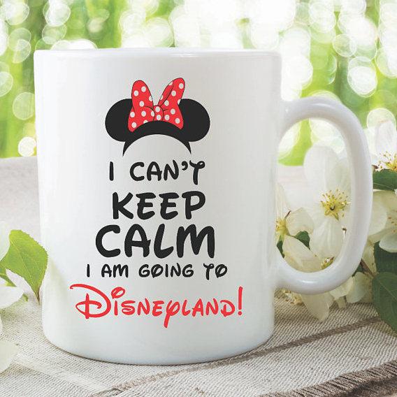 Novelty Mug I Am Going To Disneyland Best Friend Gift Coffee Cup Disney