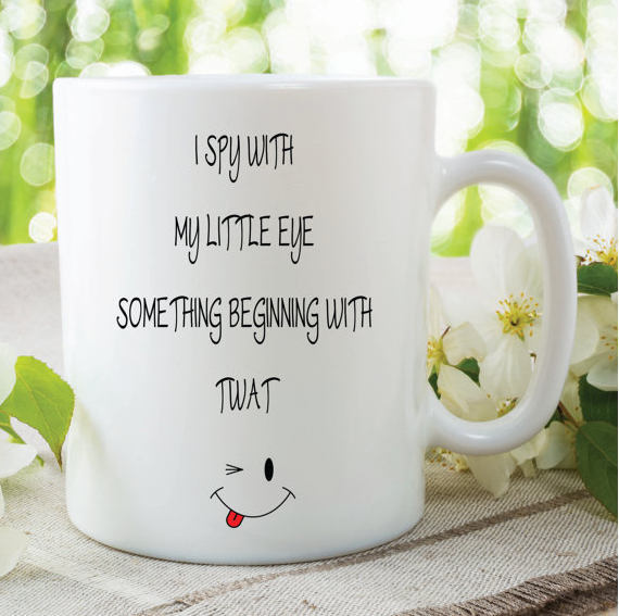 Novelty Mugs Funny Friend Gifts Cup Mug By MySticky On Zibbet