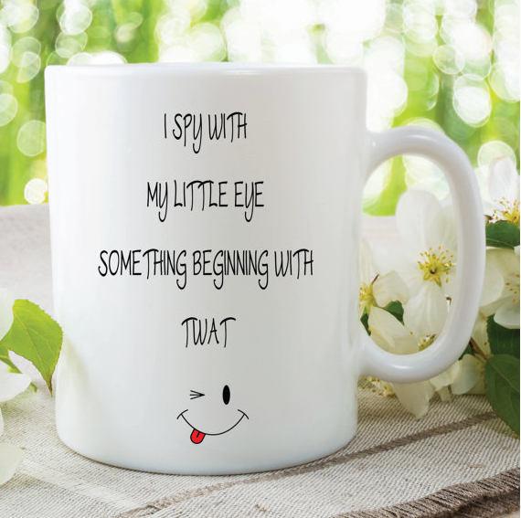 Novelty Mugs Funny Friend Gifts Cup Mug By MySticky On Zibbet
