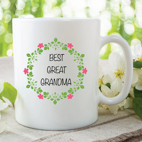 Best Great Grandma Mothers Day Flowers Birthday Gift Christmas Gifts Friend