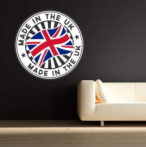 made in the uk wall sticker bedroom decal muralmysticky on zibbet