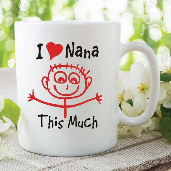 i love nana this much mug gift for nana grandma birthday christmas mothers day