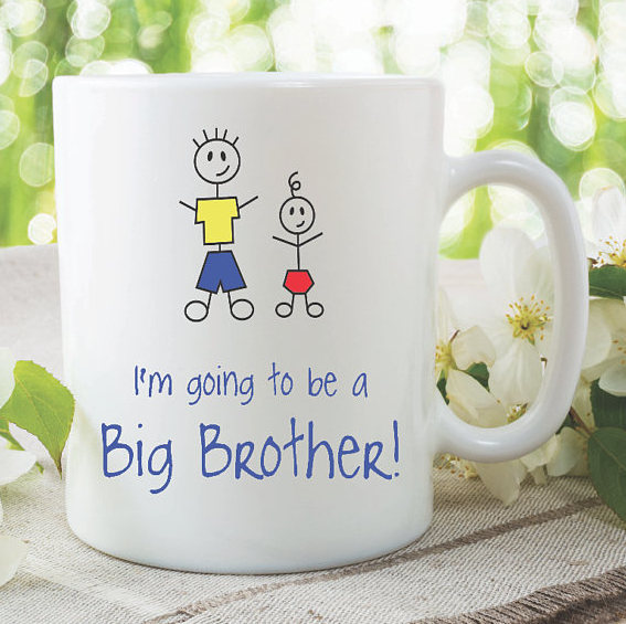 Big Brother Mugs Im Going To Be A New Baby Shower Pregnancy