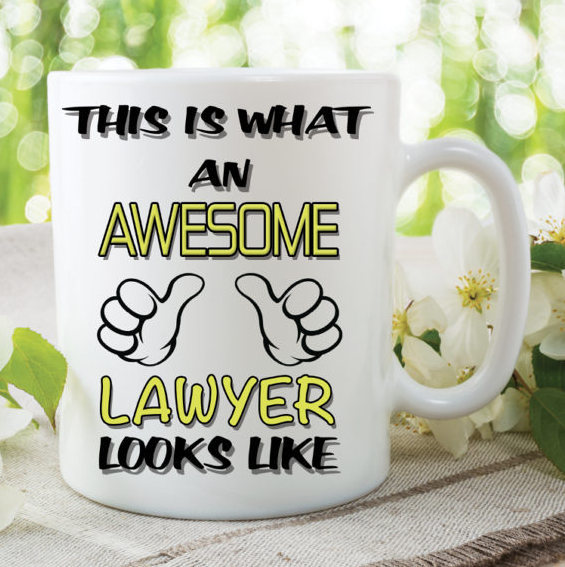 Novelty Mug This Is What An Awesome Lawyer Looks Like Funny Birthday Gift Family